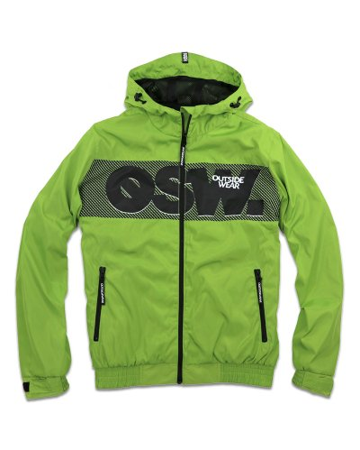 "Kurtka Wiatrówka Zip ""Windbreaks"" Lime"
