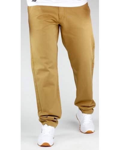Spodnie chino regular / honey
